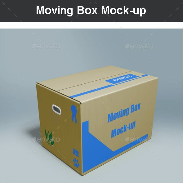 Moving Box Mock-up