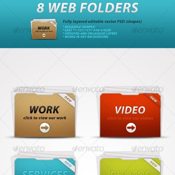 8 Web Folders