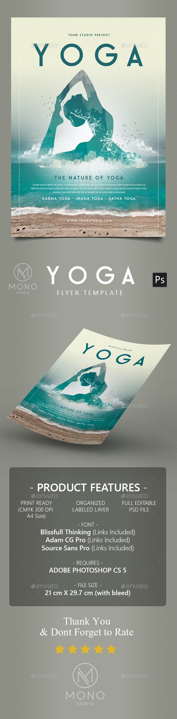 Yoga Flyer / Poster 2 - Sports Events