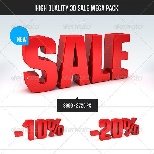 3D Sale Mega Pack