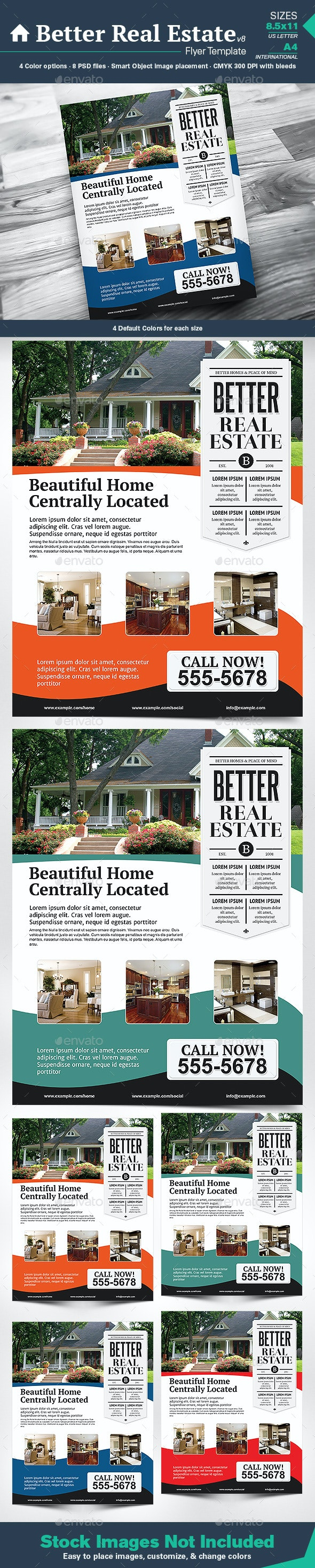 Better Real Estate Flyer Template v8 - Corporate Flyers