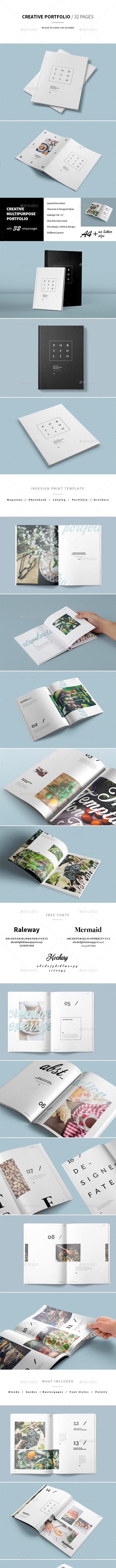 Multipurpose Portfolio - Portfolio Brochures