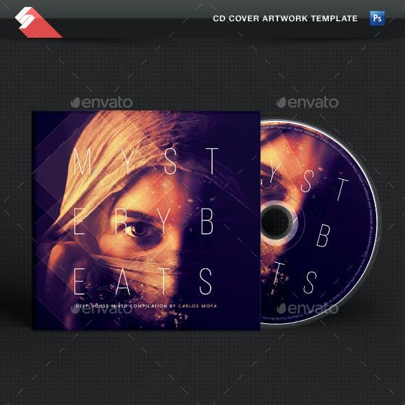 Mystery Beats - Progressive CD Cover Template