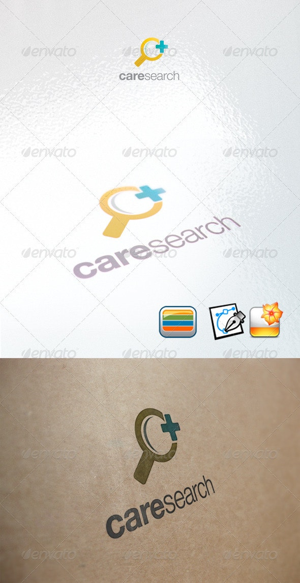 Care Search - Objects Logo Templates