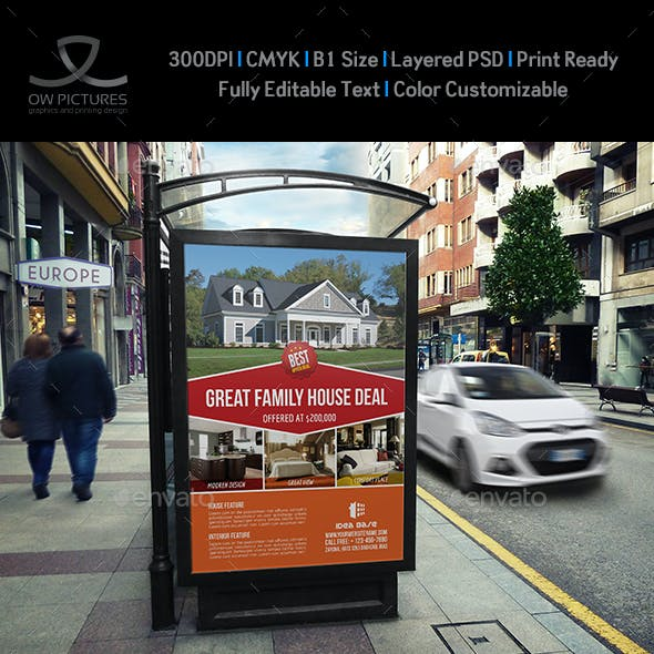 Real Estate Poster Template Vol.2