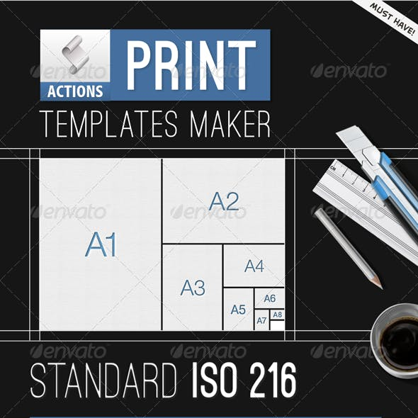 Print Templates Maker - Automatic Bleeds and Size