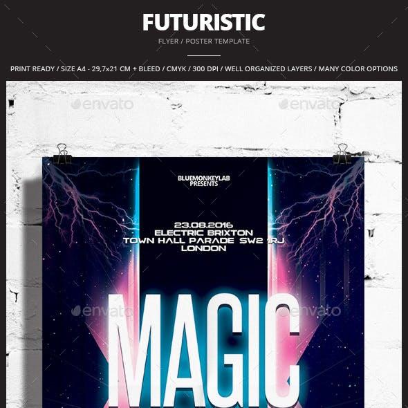 Futuristic Flyer / Poster 7