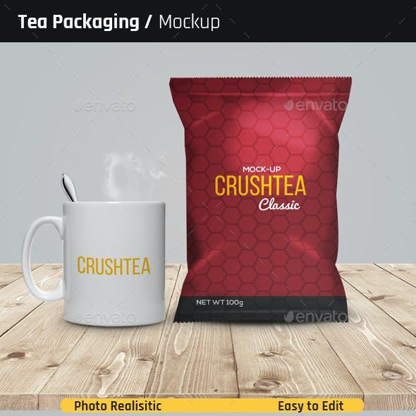 Tea Packaging Mock-Ups