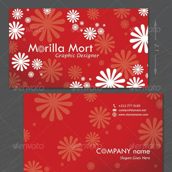 Delightful Personal Card - 4 colors