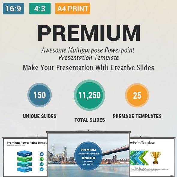 Premium Multipurpose PowerPoint Presentation Template