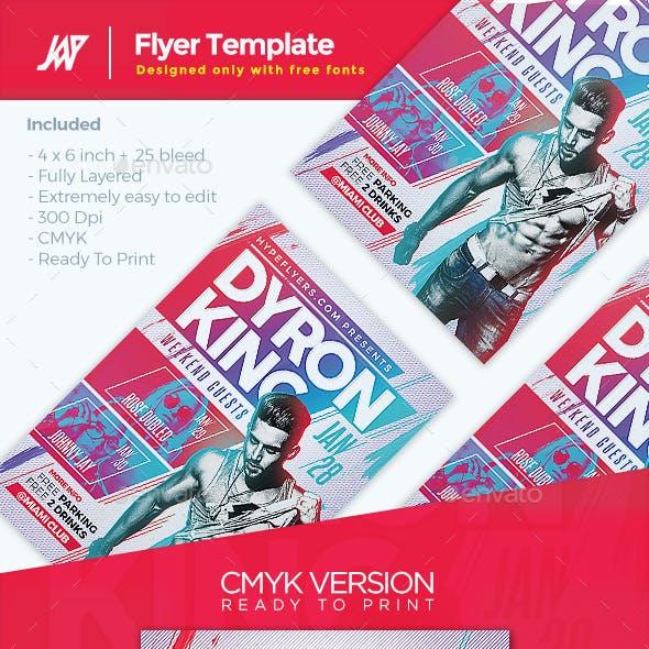 Artist Event Music Flyer