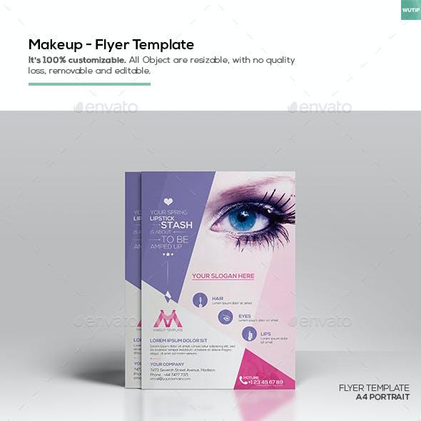 Makeup/ Flyer Template