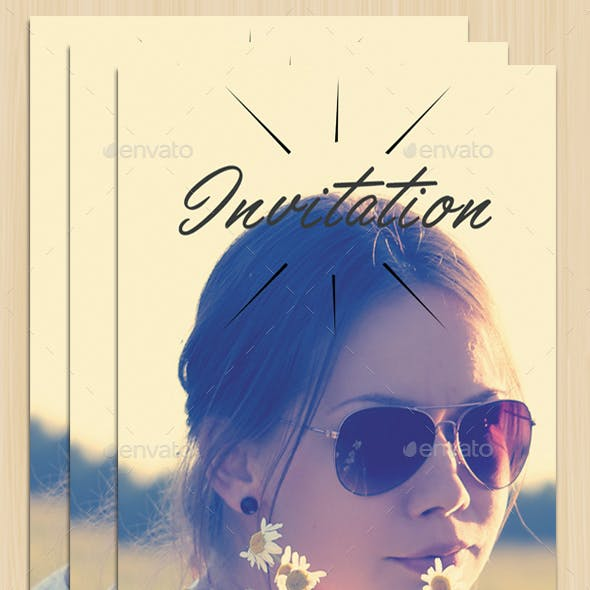 Graduation Invitation Vol.1