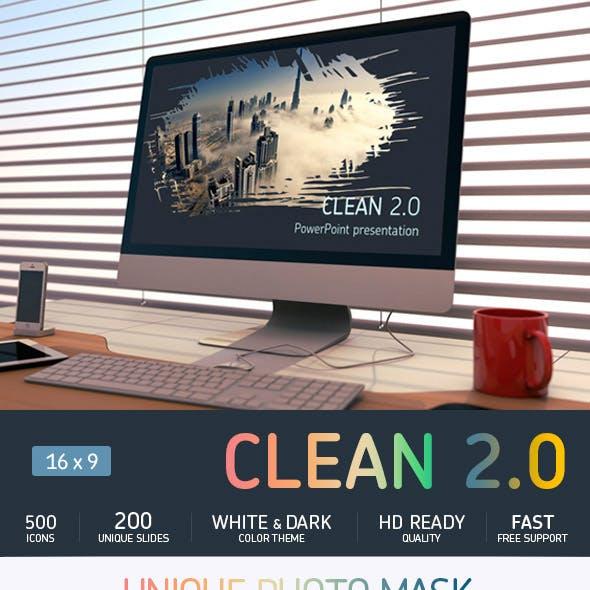 Clean 2.0 Keynote presentation