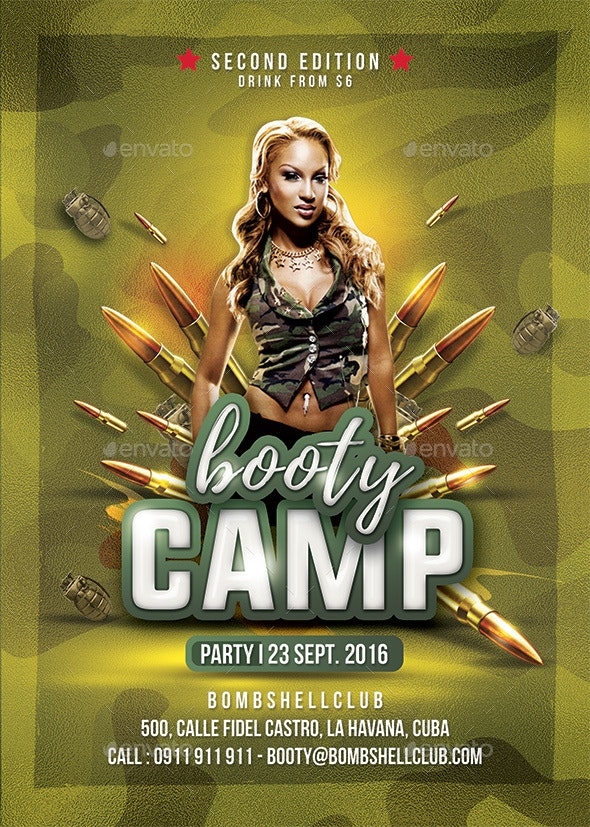 Bombshell Booty Camp - Clubs & Parties Events