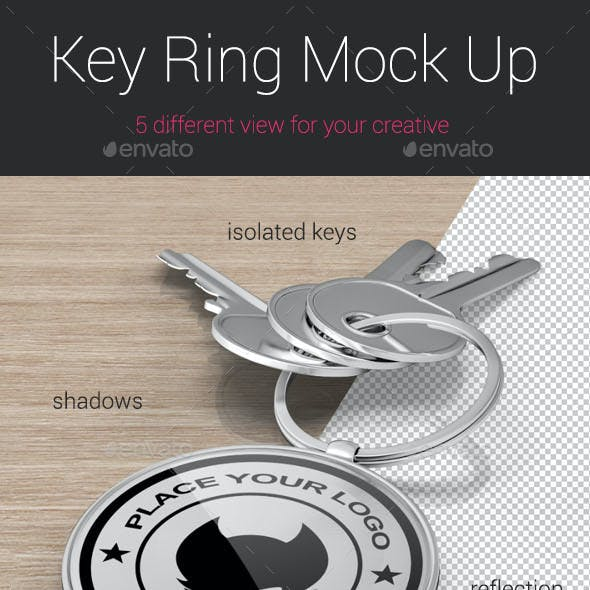 Key Ring Mock Up