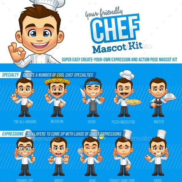 Chef Mascot Kit