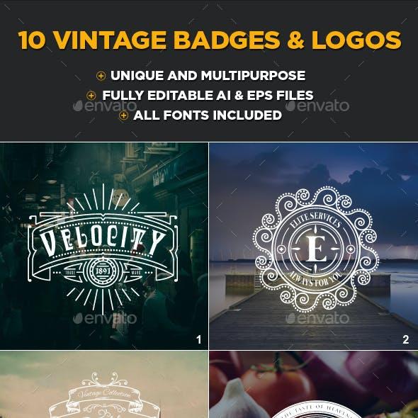 10 Vintage Logo Collection Volume 1