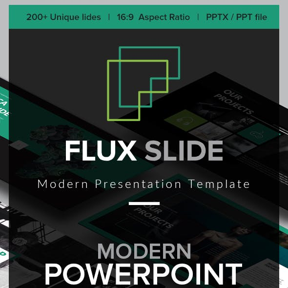 Flux Slides PowerPoint Template
