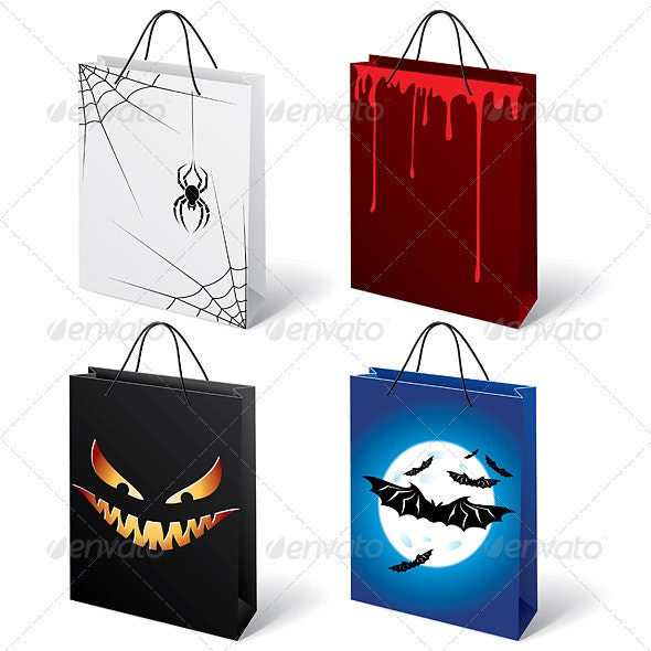 Halloween shopping bags  - People Characters