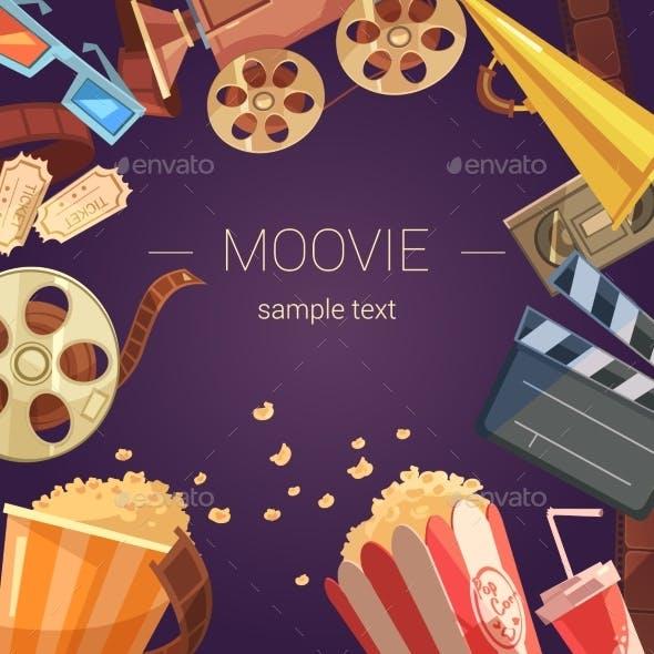 Movie Background Illustration