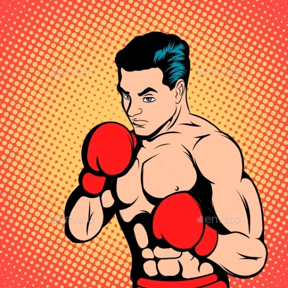 Boxer Comics Style - People Characters