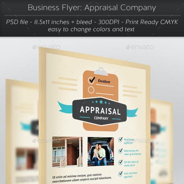 Business Flyer: Appraisal Company