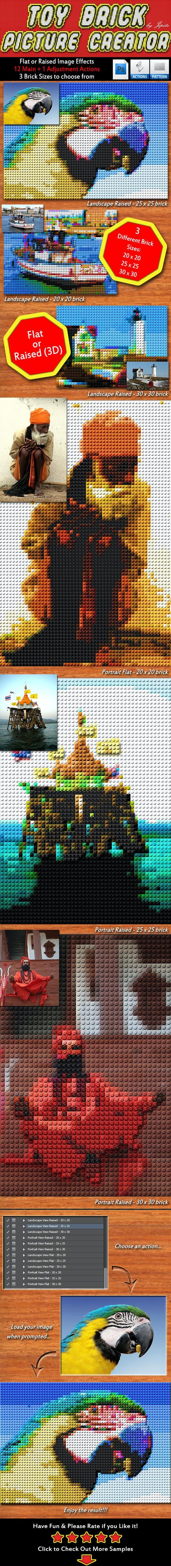 Toy Brick Picture Creator - Utilities Actions