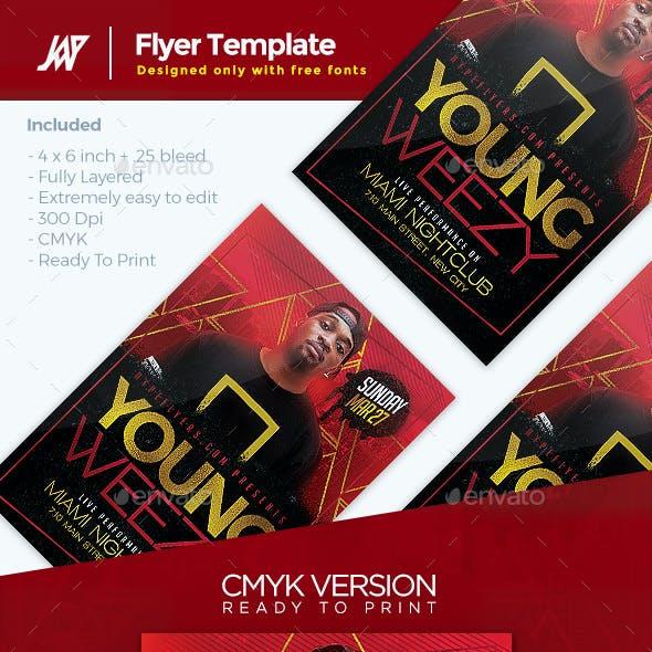 Artist Music Event Flyer