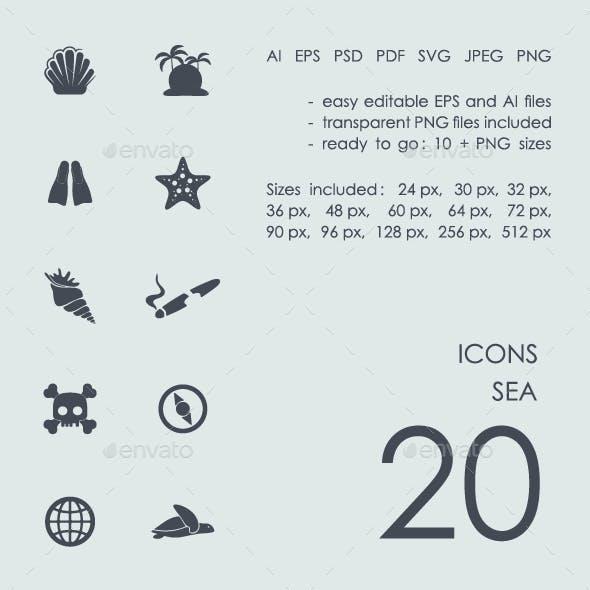 Sea icons