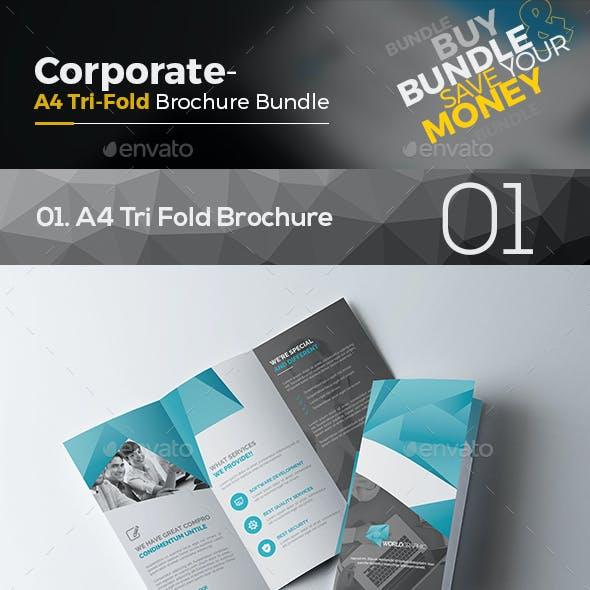 Corporate Tri Fold Brochure Bundle