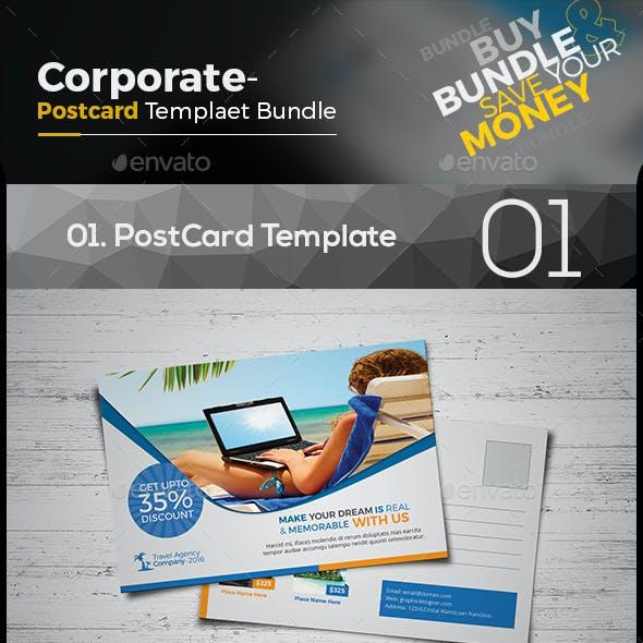 Travel Postcard Bundle