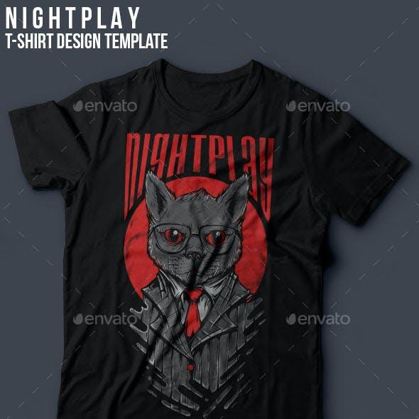 Nightplay T-Shirt Design