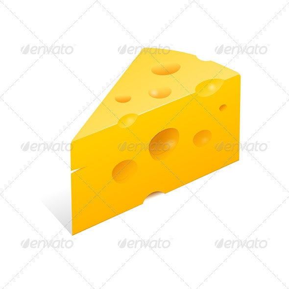 Cheese Illustration - Food Objects