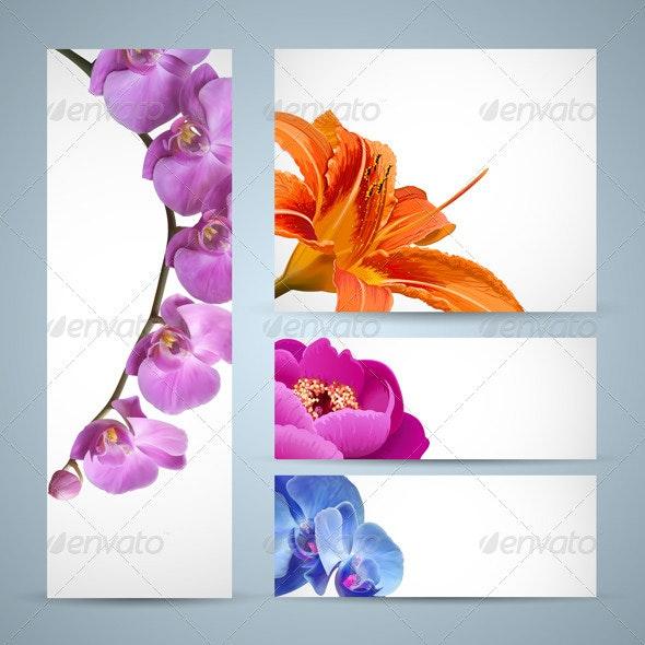 Flowers templates - Flowers & Plants Nature