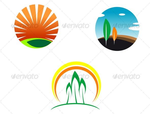 Nature icons - Nature Conceptual