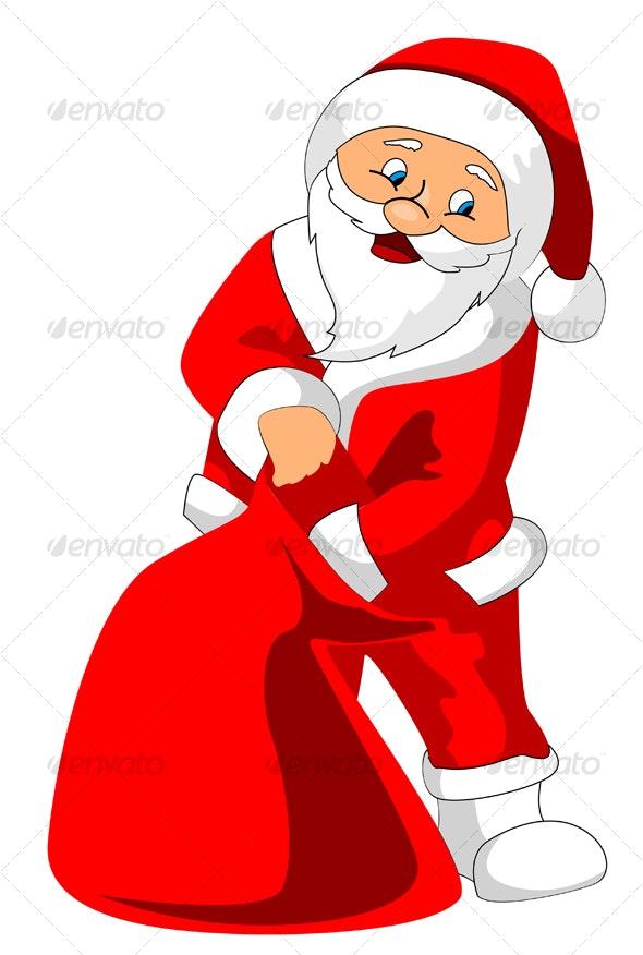 Santa Claus - Seasons/Holidays Conceptual