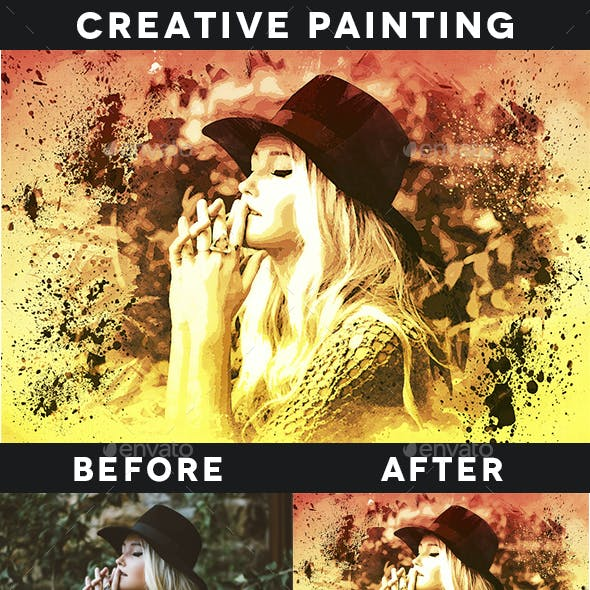 Creative Painting Template Vol. 3