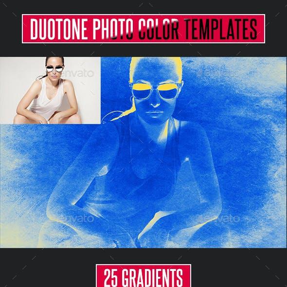 250 Duotone Photo Effect Templates