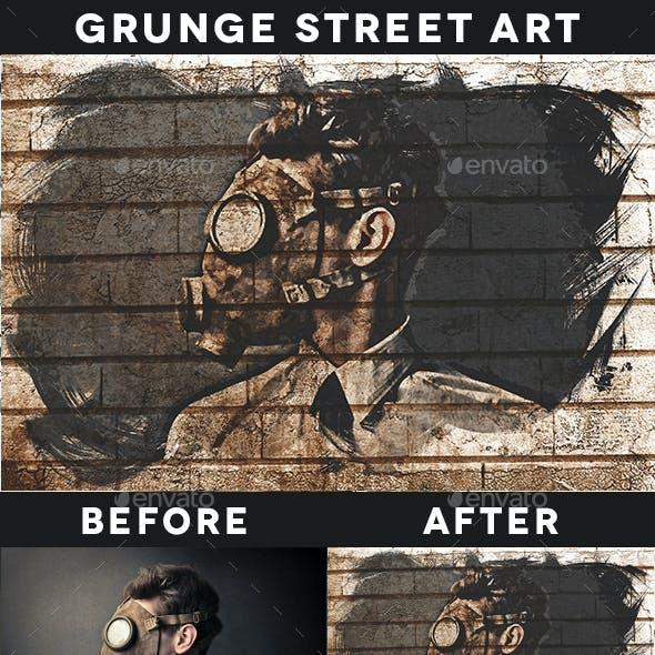 Grunge Street Art Template Vol. 03