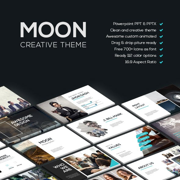 MOON - Creative Theme