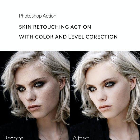Skin Retouching Action
