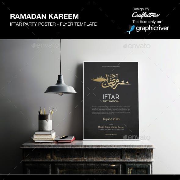 Ramadan Kareem Iftar Poster Flyer Vol.01
