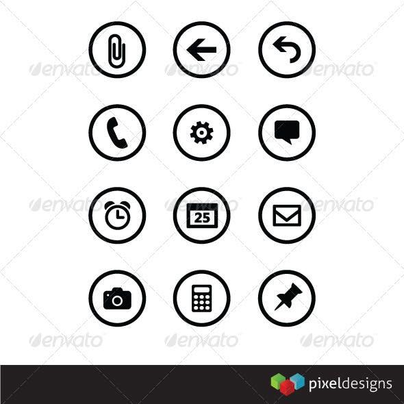 Metro style base icons