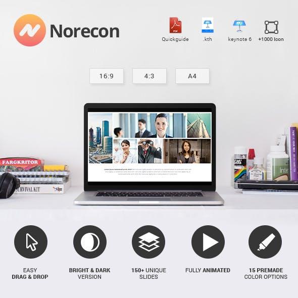 Norecon - Fresh Keynote Template