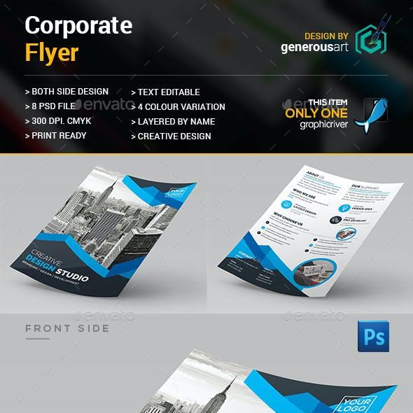 Coroprate Both Side_Flyer