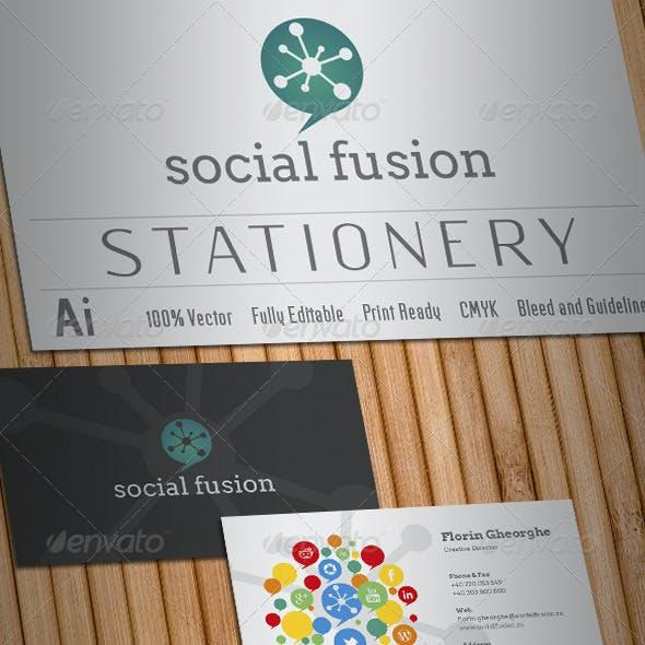 Social Fusion Stationery