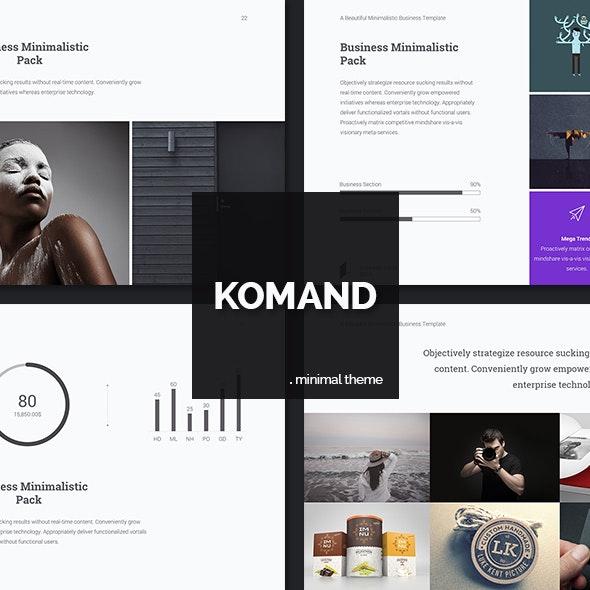 Komand Keynote Template - Business Keynote Templates