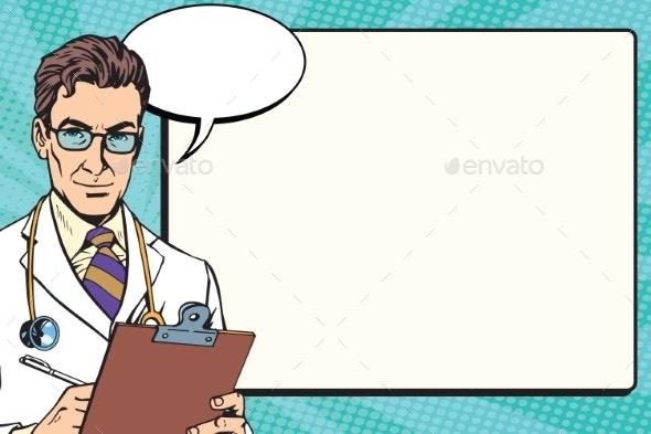 Medicine Doctor Health Background Vector