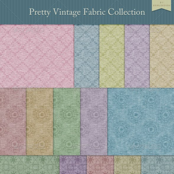 Pretty Vintage Fabric Collection
